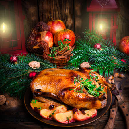 christmas cooking: Christmas duck