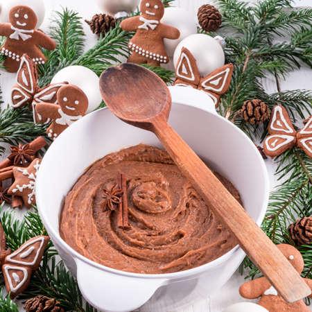 the dough: gingerbread masa