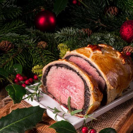 Beef Wellington as Advent creation