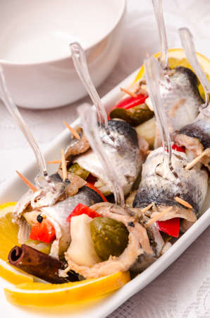 seafish: Pickled spicy herring
