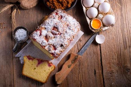 yeast: yeast dough cake Stock Photo