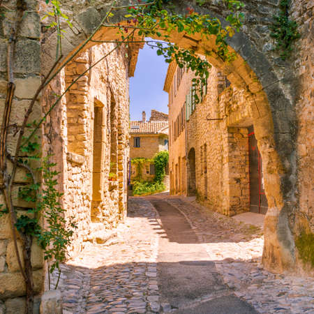 Old town in provence Banque d'images