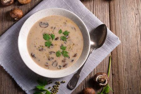 mushroom: Creamy Mushroom Soup