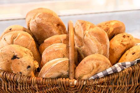 ciabatta: Ciabatta bread Stock Photo
