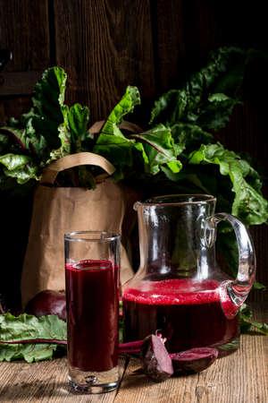 beetroot juice Standard-Bild