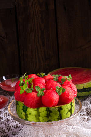 cooled: cooled watermelon pie