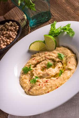 hummus: Hummus Stock Photo