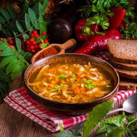 cattle breeding: polish beef tripe soup