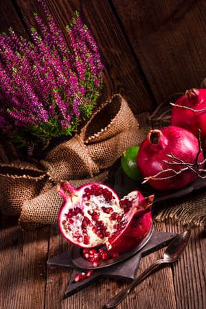 pomegranate: Pomegranate Stock Photo
