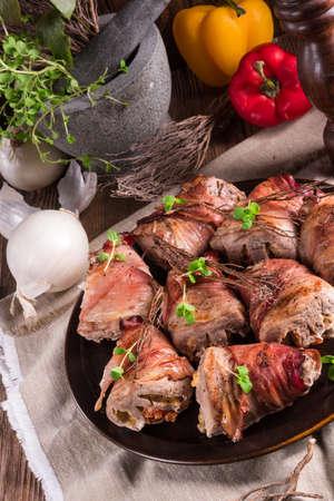 pork tenderloin: stuffed pork tenderloin