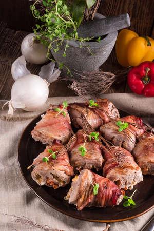 tenderloin: stuffed pork tenderloin