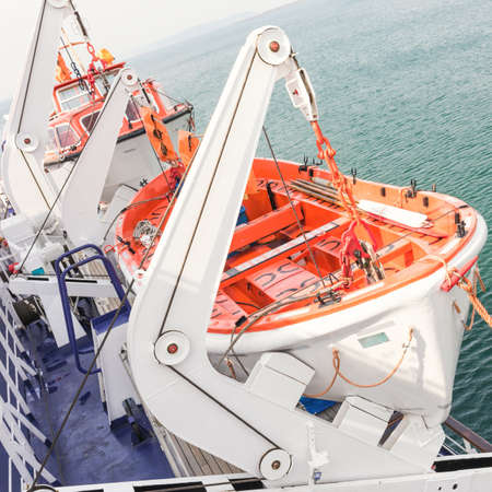 lifeboat: lifeboat Stock Photo
