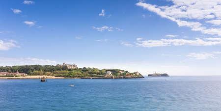 calmness: Santander scene of calmness