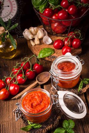 paste: homemade Tomato paste