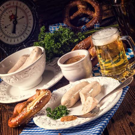 meatloaf: Bavarian meatloaf with sweetly senf