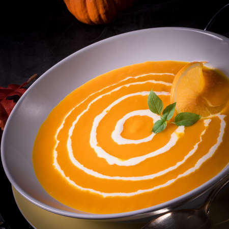pumpkin soup: Pumpkin Soup with orange