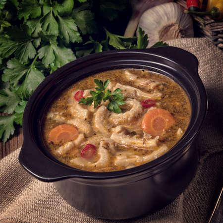 tripe: Flaczki- Tripe Soup