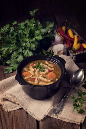 chitterlings: Flaczki- Tripe Soup