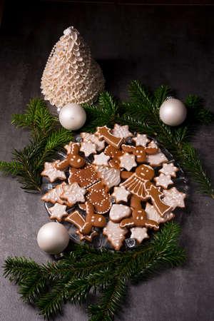 christmas cookie: Gingerbread