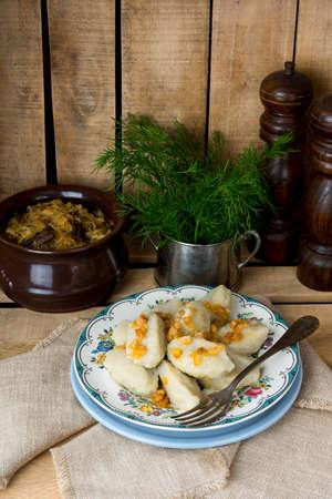 silesian gray potato dumplings