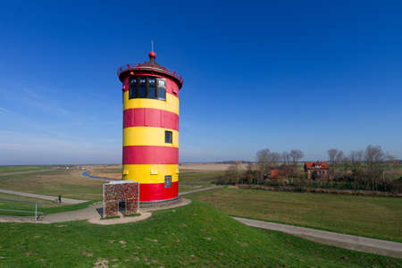 navigational light: friesland lighthouse