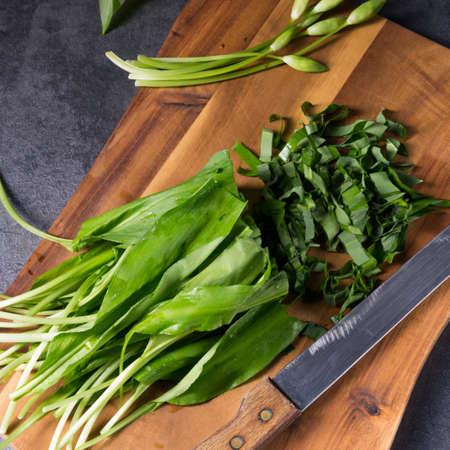 Allium ursinum Reklamní fotografie