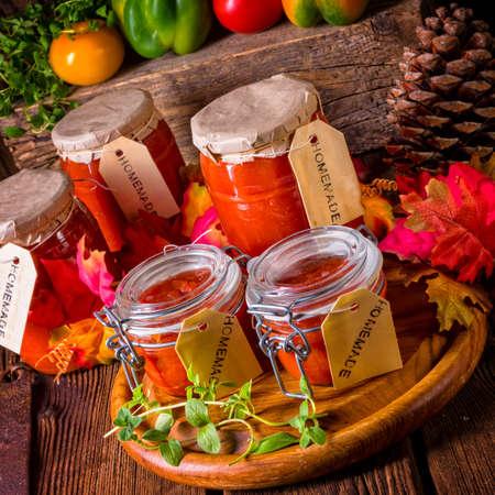 Mason jar Stock Photo
