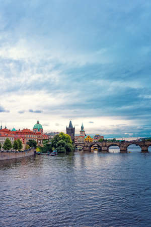 View in Prague Stock Photo