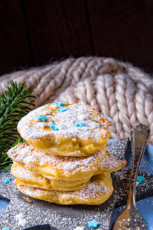 Racuchy - are yeast pancakes and traditional Polish cuisine.