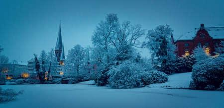 冬のオルデンブルク