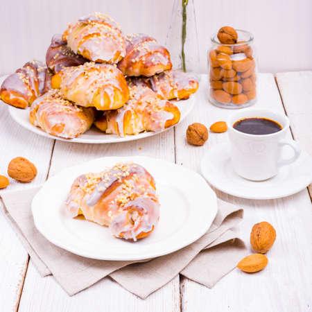 Tasty Polish St. Martin's Day Croissants (Marcinki) Zdjęcie Seryjne
