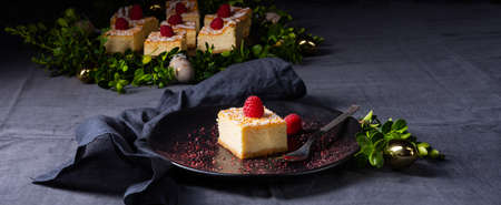 delicious festive cheesecake from the tin
