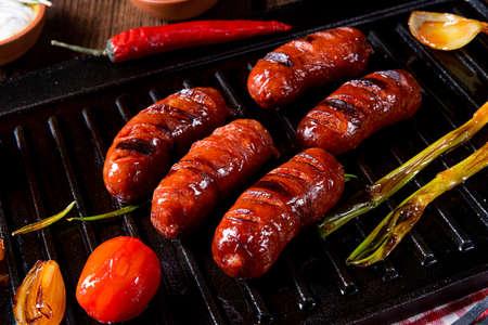 Chili chorizo â€saucisse avec bruschetta de tomates
