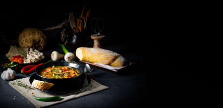 Flaczki - tripe soup the Polish way Zdjęcie Seryjne