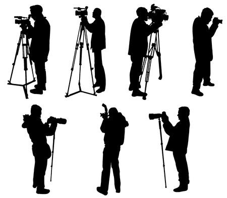 photographers and cameramen