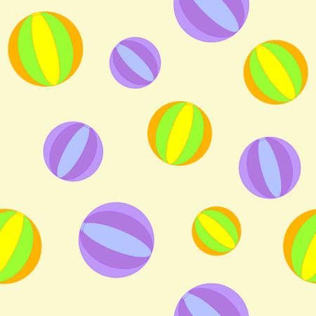 inflar: Cura de fondo sin fisuras con las bolas