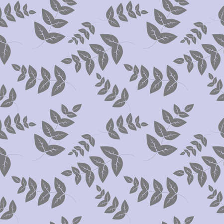 tissue paper: Seamless pattern branches with leaves