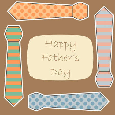 Happy Father's Day card Stock Vector - 18089536