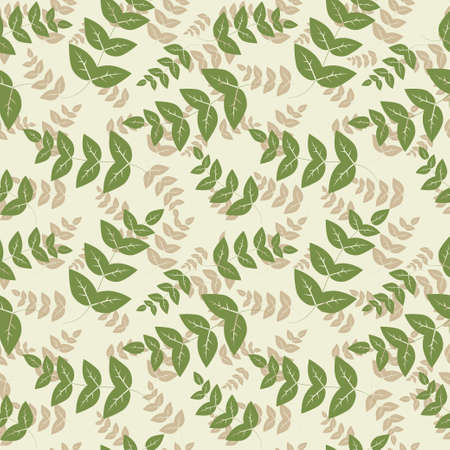 tissue paper: Seamless pattern with leaf, abstract leaf texture