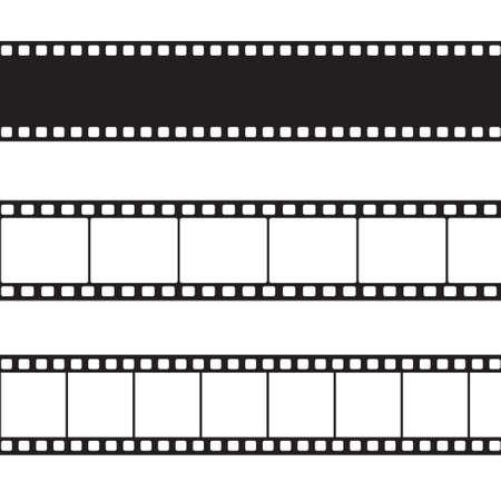 Vector ilustración de tira de película Foto de archivo - 20313708