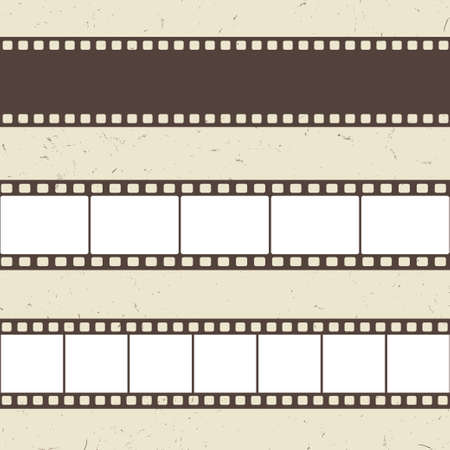 Vector film strip illustration Illustration