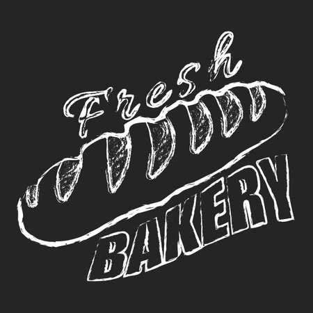 Fresh bakery logo Illustration