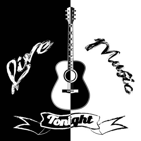 Black and white acoustic