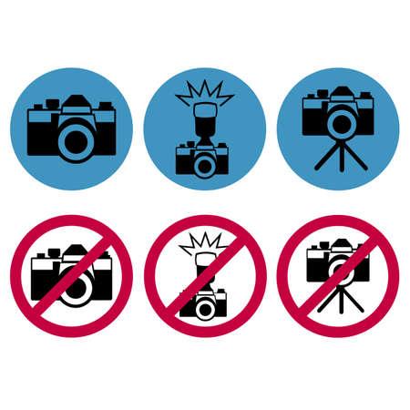 refrain: camera round icons