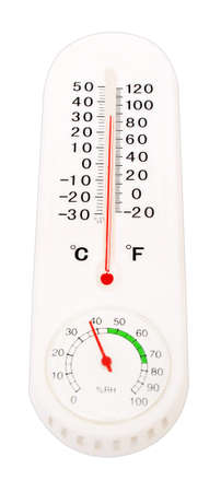 celcius: Thermometr with Celcius and Farenheit scales