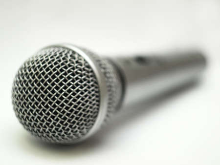 Microphone with a nice blurred background