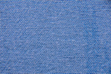 bagging: Blue bagging cloth macro close view Stock Photo