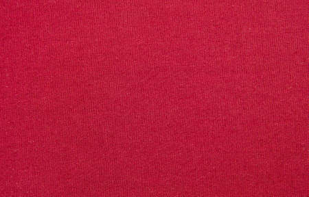 bagging: Red bagging cloth macro close view