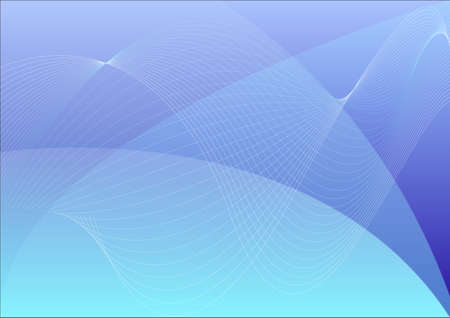 desktop wallpaper: Azul ondulado resumen de antecedentes vector, papel pintado de escritorio abstracto