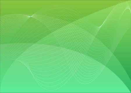 desktop wallpaper: Verde ondulado resumen de antecedentes vector, papel pintado de escritorio abstracto